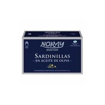 SARDINILLAS OLIVA L/120 GR. NORAY